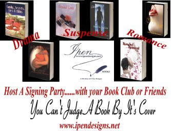 Book signing group party