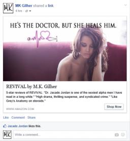 Purple Girl Ad Screenshot