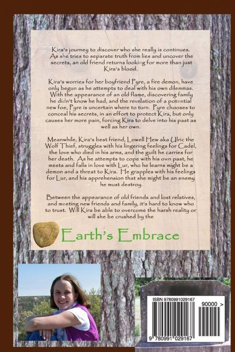 Earth's Embrace (back cover)