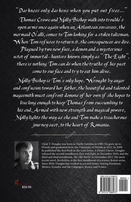 Lore: East and Eight (back cover)