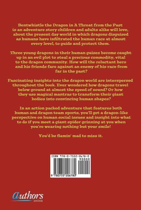 Bentwhistle the Dragon in a Threat from the Past (back cover)
