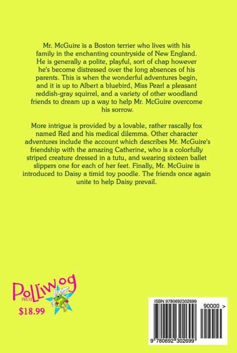 The Adventures of Mr. McGuire and Friends (back cover)