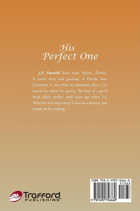 His Perfect One (back book cover)
