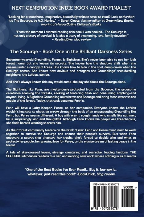 The Scourge (back cover)