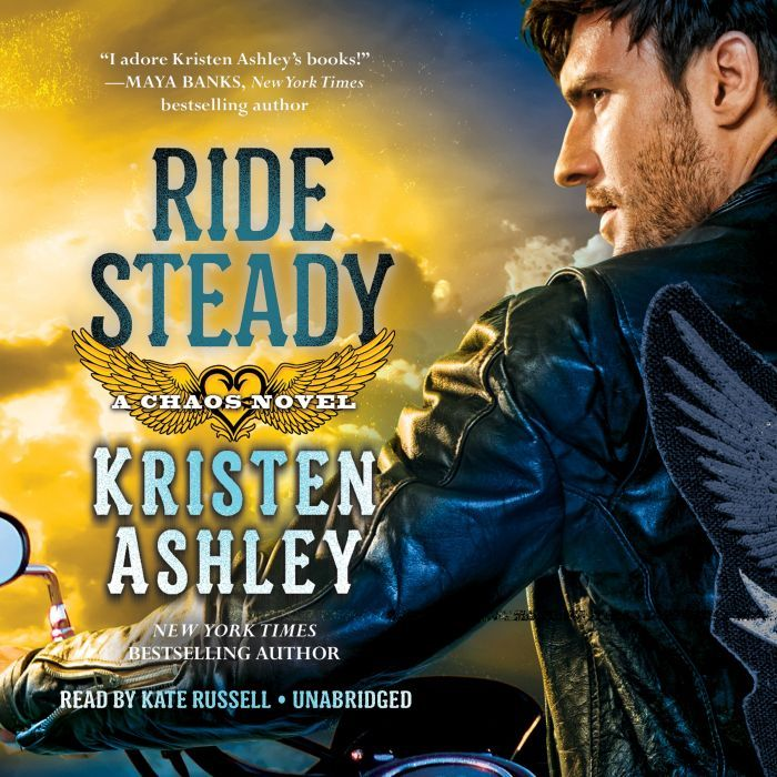 Ride Steady (Chaos) (Audio CD Cover)
