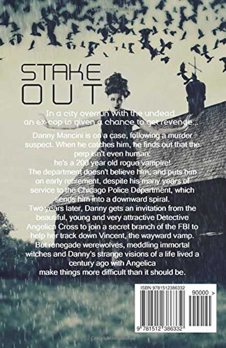 Stake-Out (Paranormal Detectives Book 1) (back cover)