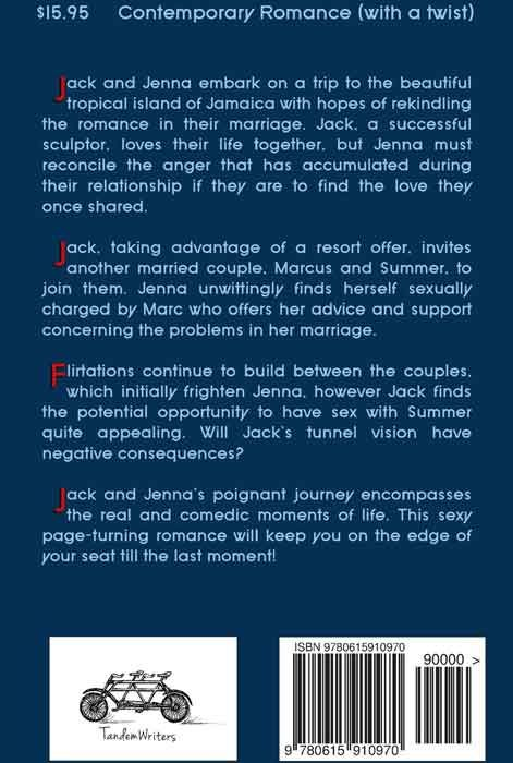 The Demarcation of Jack (back cover)