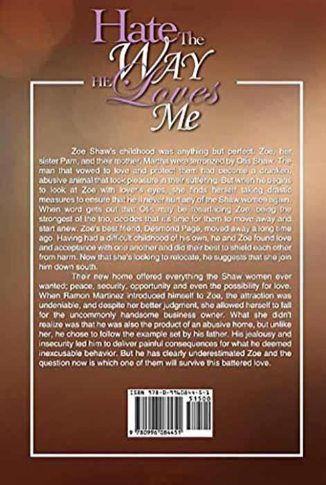 Add Media: Hate the Way You Love Me (Delphine Publications Presents) (back cover)
