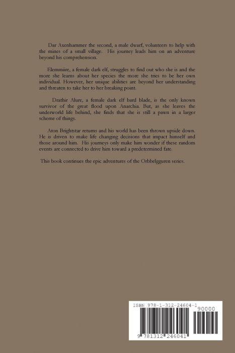 Orbbelgguren Series Book Ix Child of the Shard (back cover)