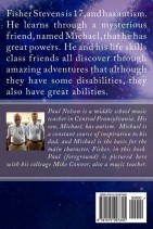 Through Fisher's Eyes: An Autism Adventure (back cover)