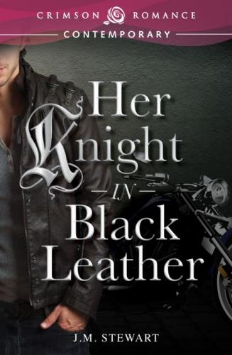 Her Knight in Black Leather (book cover)