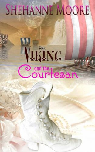 The Viking and The Courtesan (book cover)