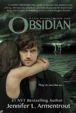 Obsidian (Lux Series #1) (cover)