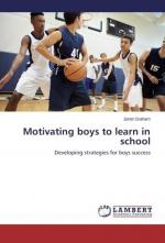Motivating boys to learn in school (cover)