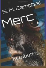 Merc: Retribution (Tannis Cladain Book 1) (cover)