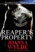 Reaper's Property (Reapers MC) (cover)
