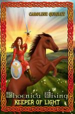 Phoenica Rising: Keeper of Light (Book One) (cover)