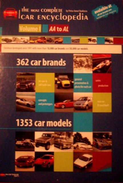 The Most Complete Car Encyclopedia, Vol. 1, AA to AL